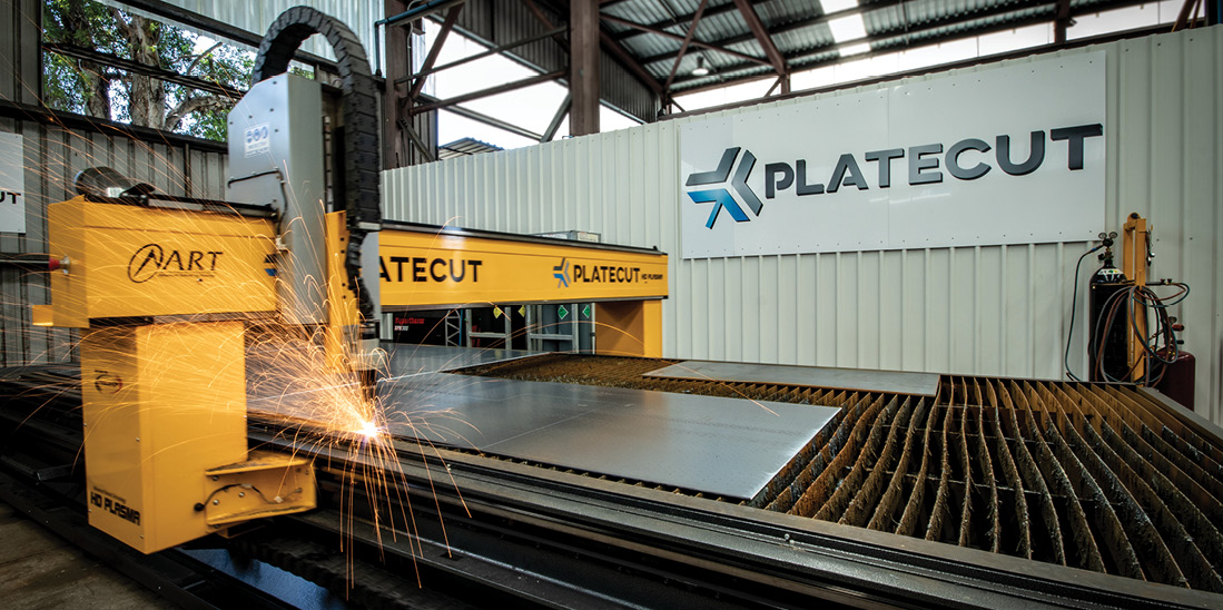 Plate Cut Steel Plasma Cutting